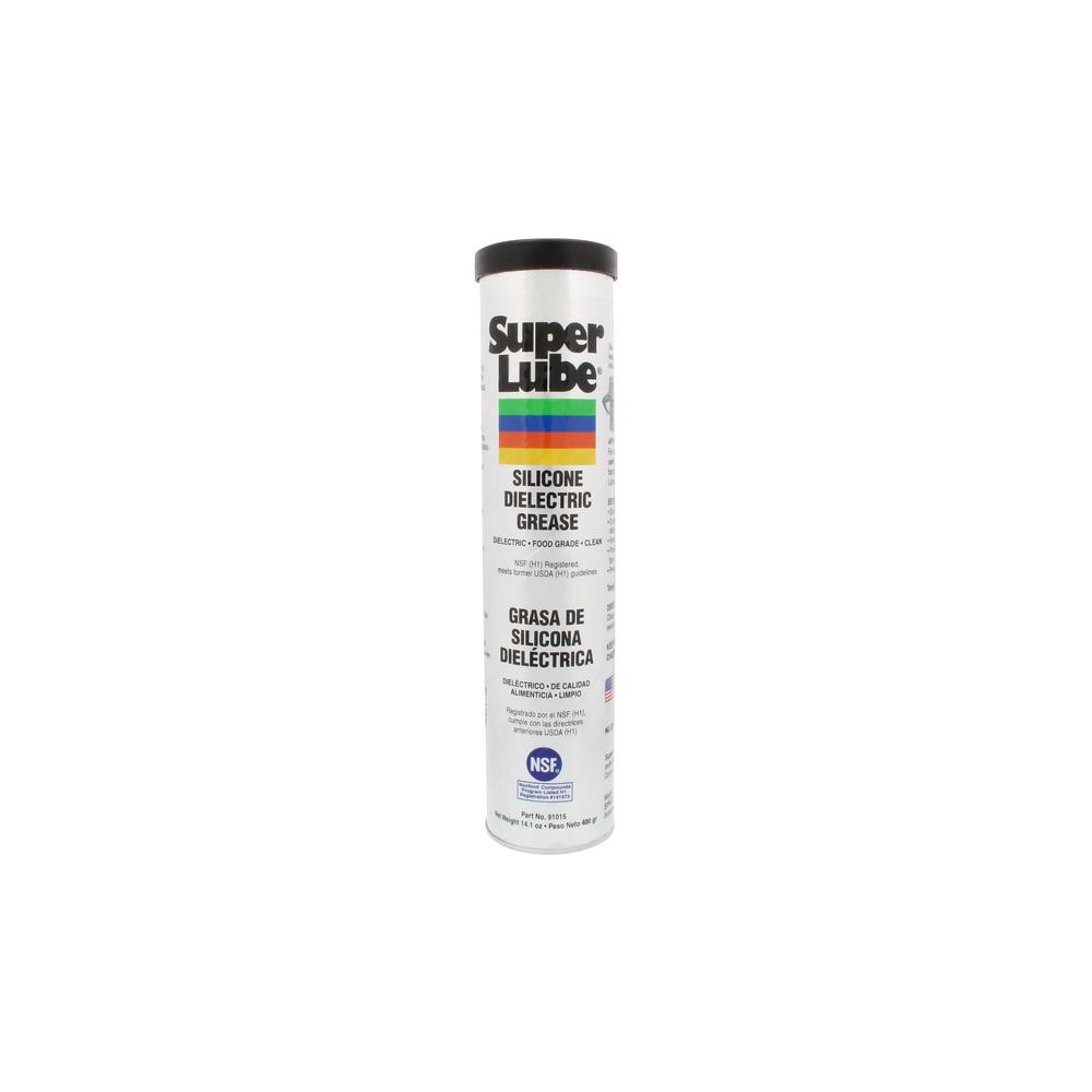 Dielectric Grease Super Lube 14 1 Oz 400 G Silicone Tube Dielectric Grease