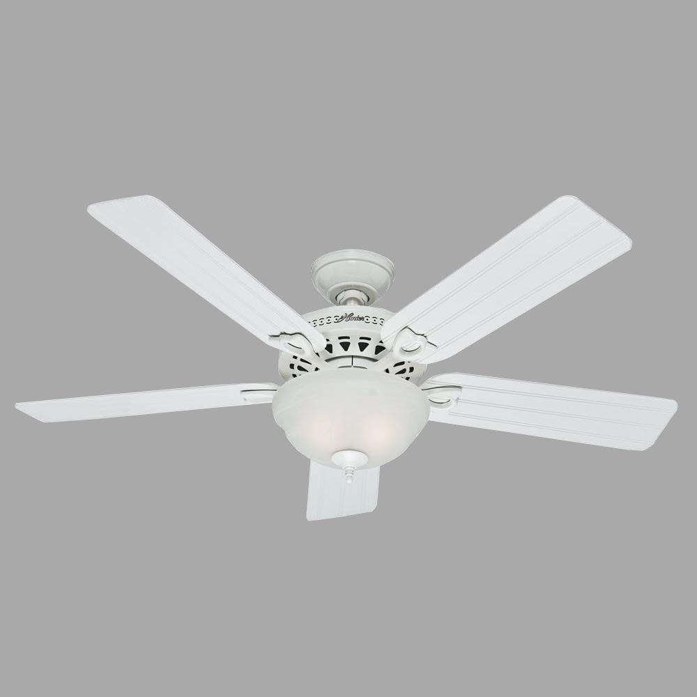 Hunter Beachcomber 52 in. Indoor White Ceiling Fan with