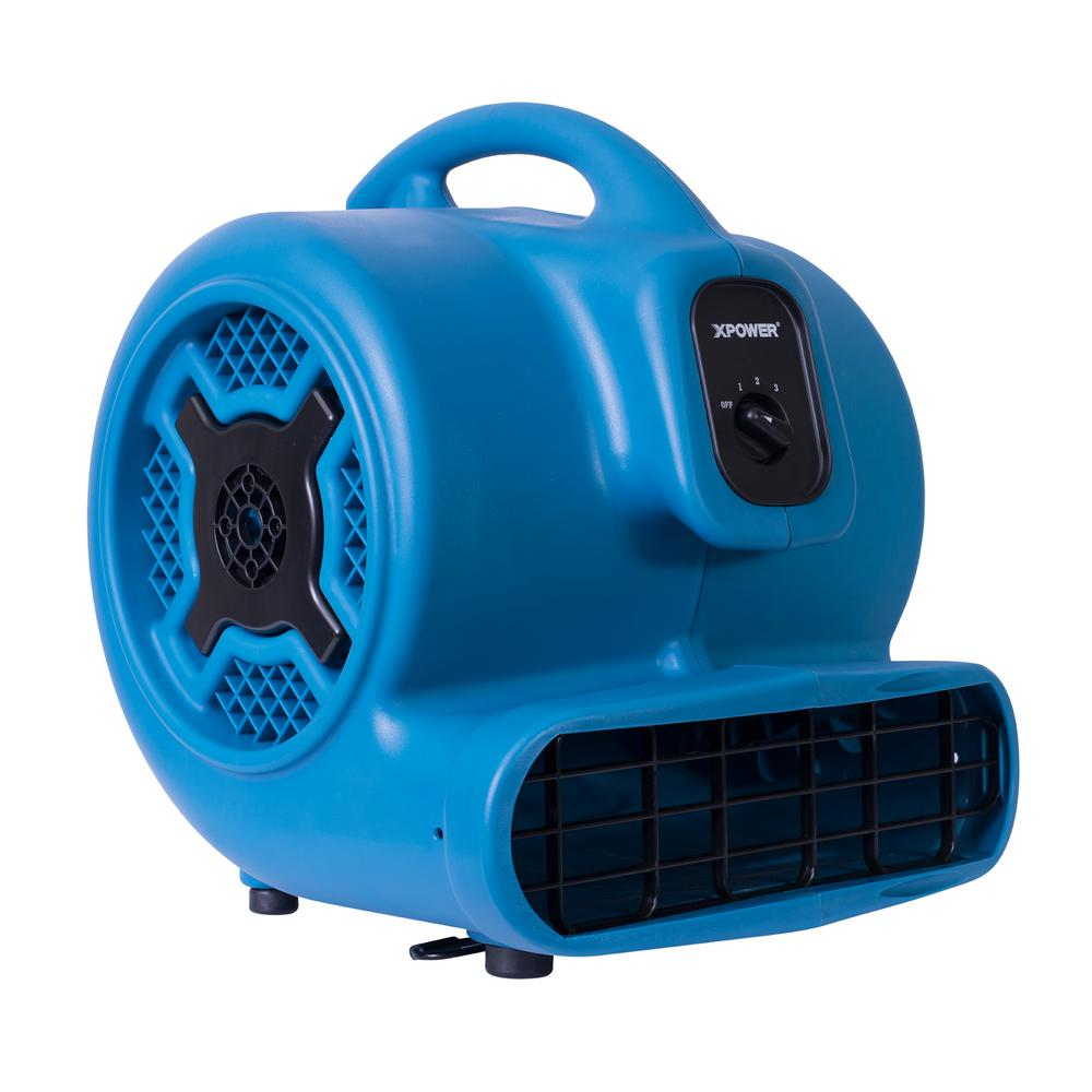 Portable Extractor Fan Xpower 1 Hp 3600 Cfm 3 Speed Air Mover Carpet Dryer Floor Fan Blower