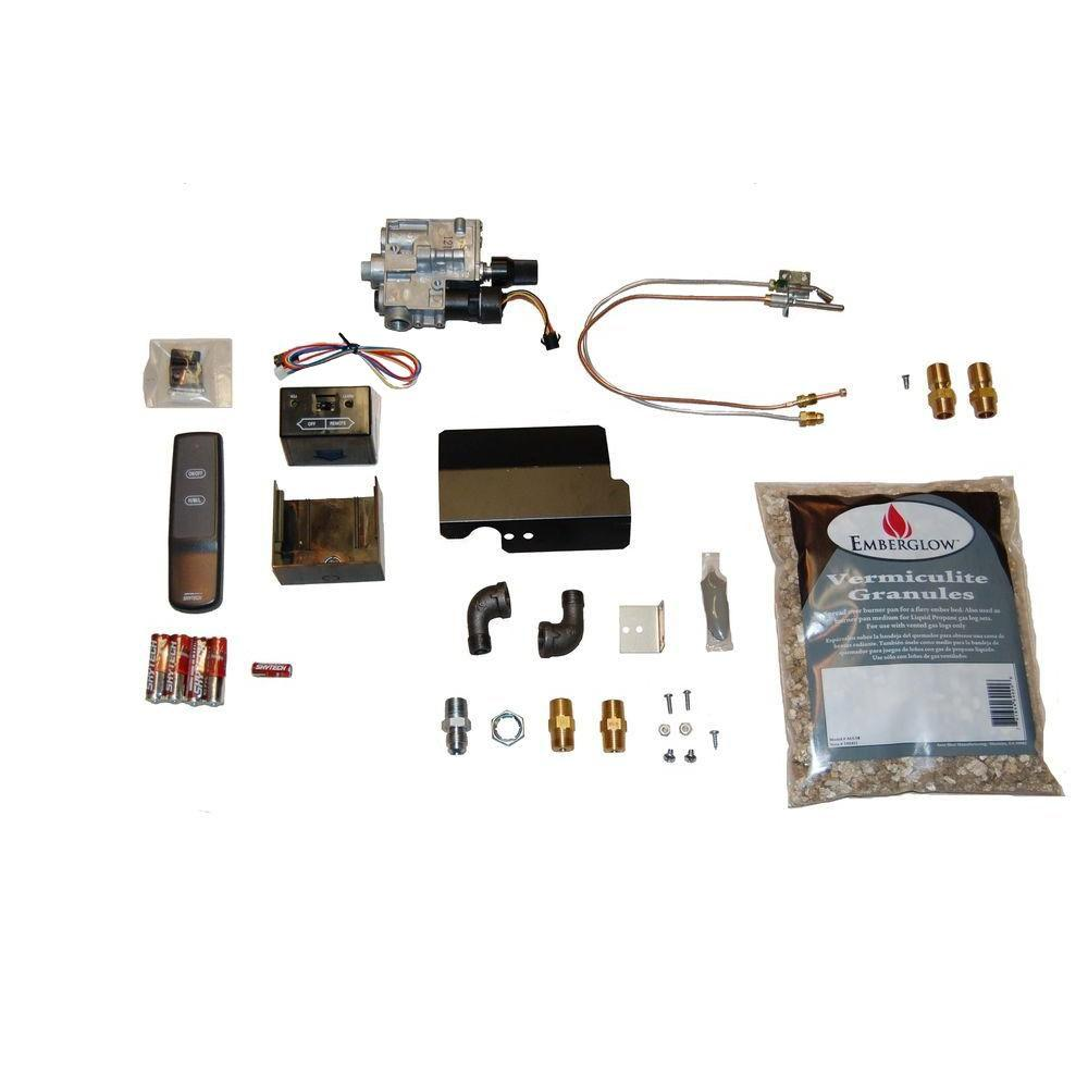 Gas Fireplace Pilot Light Out Emberglow Remote Controlled Safety Pilot Kit For Vented Gas Logs