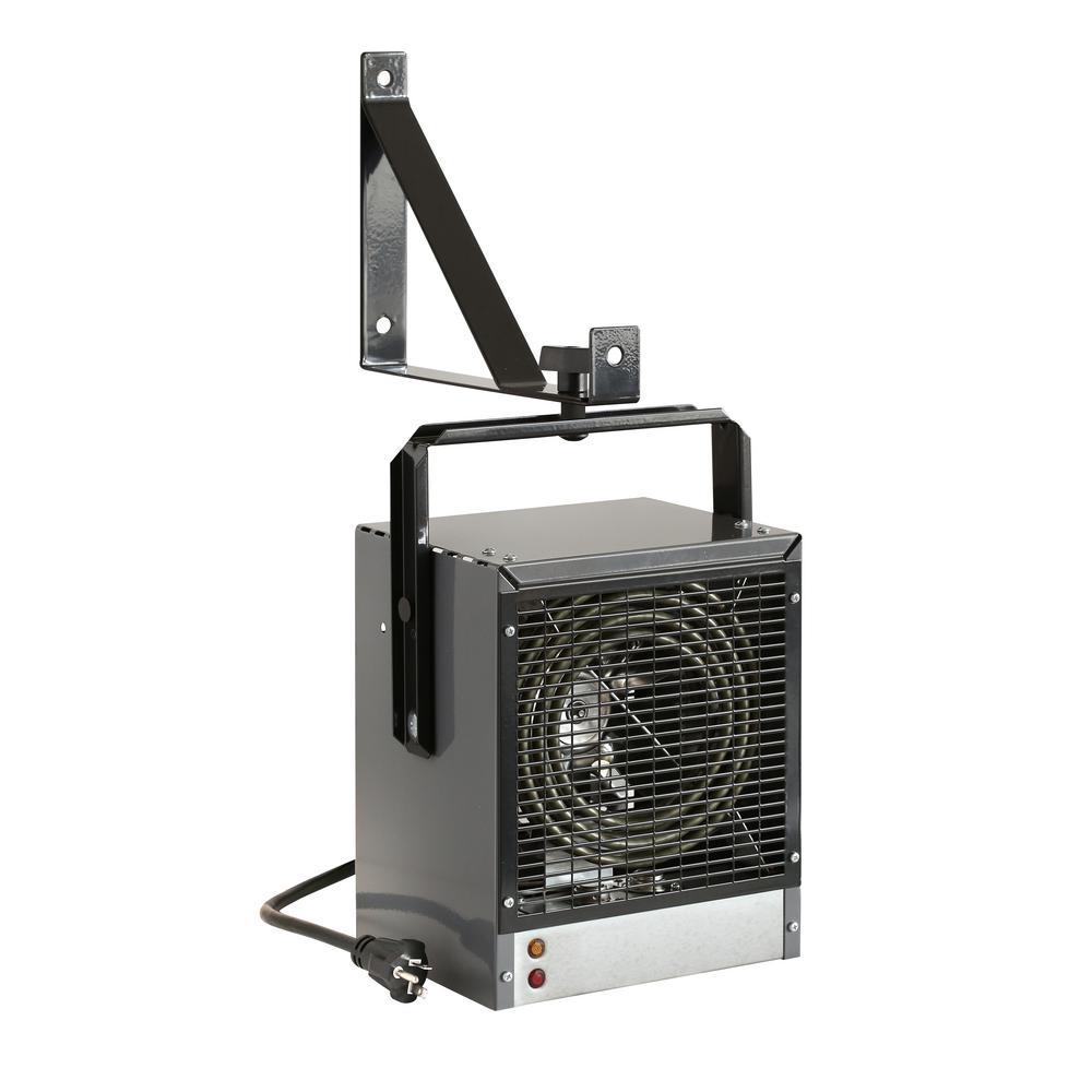 King Electric Garage Heater Dimplex 4000 Watt 240 Volt 1 Phase Fan Force Electric Garage Workshop Heater In Grey