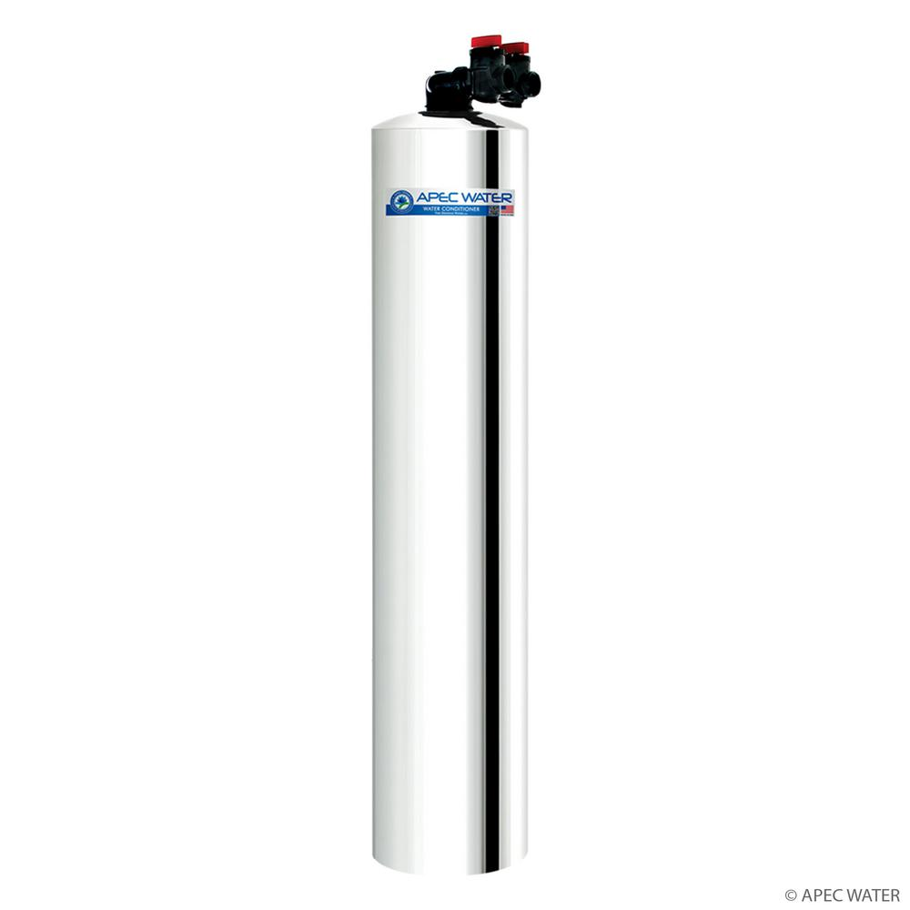 Carbon Water Filter System Apec Water Systems Premium 10 Gpm Whole House Water Filtration System With Pre Filter Up To 1 000k Gal