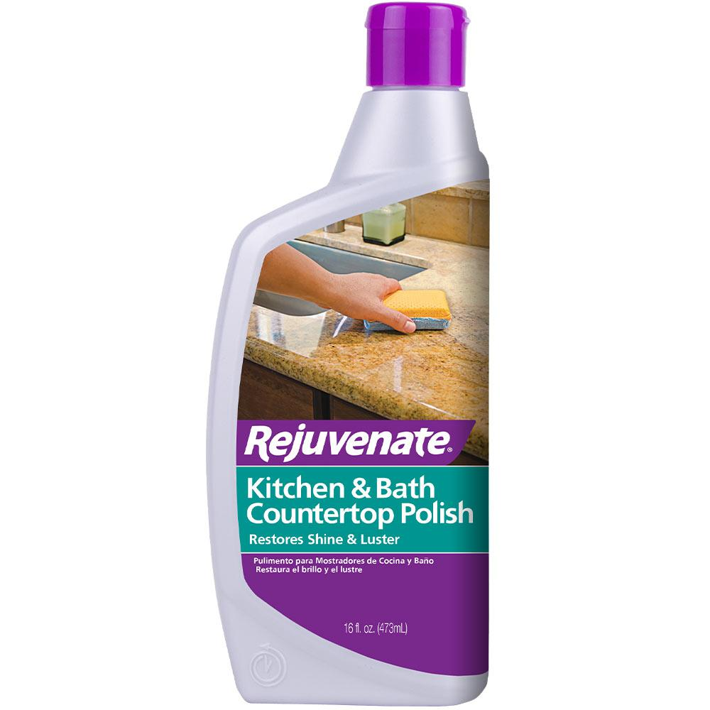 Rejuvenate 16 Oz Countertop Polish Rj16cp The Home Depot