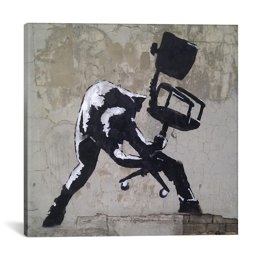 Banksy Canvas Art Icanvas