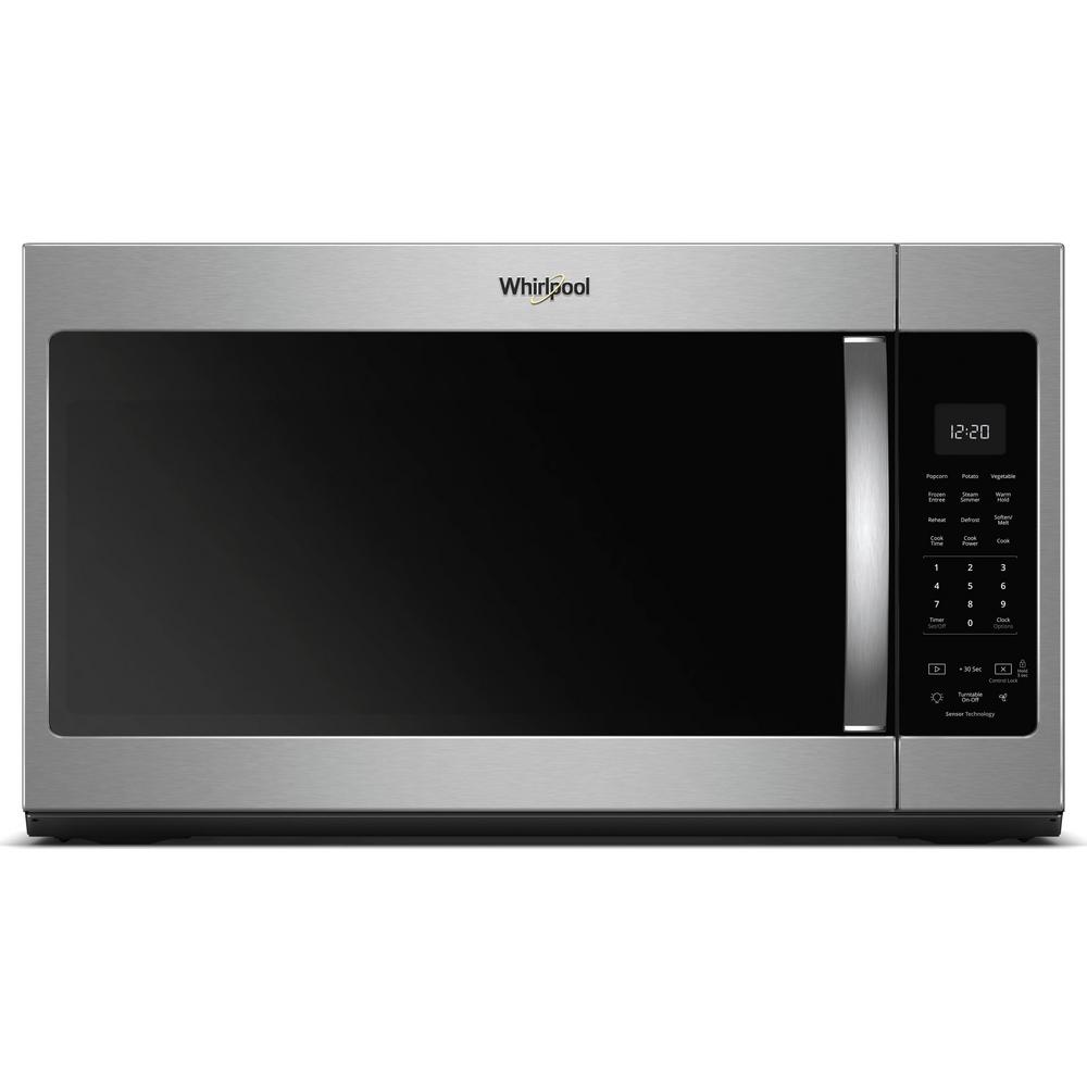 Appliances Portland Or 1 9 Cu Ft Over The Range Microwave In Fingerprint Resistant Stainless Steel With Sensor Cooking