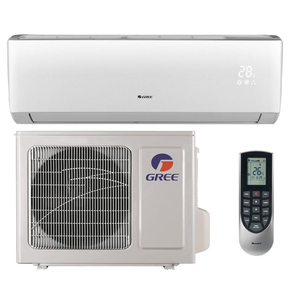 Klimaanlage Mobil Oder Split Gree Vireo 12 000 Btu 1 Ton Ductless Mini Split Air Conditioner And Heat Pump 208 230v 60hz