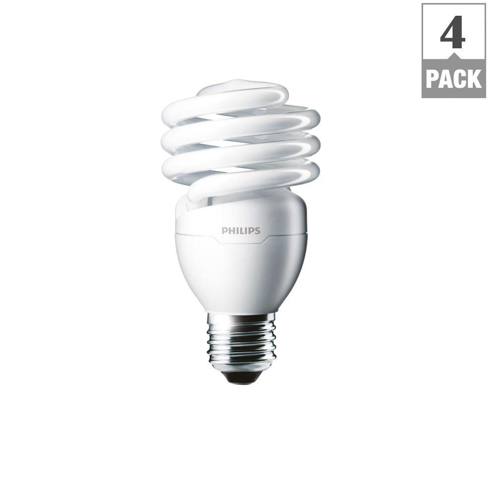 Bulb Philips Details About 100w Cfl Light Bulb 4 Pack Equivalent Daylight Deluxe T2 433557 6500k