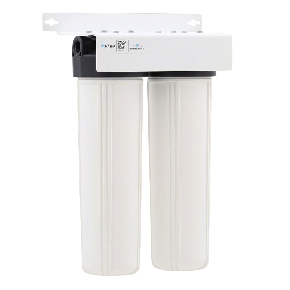 Carbon Water Filter System Perfect Water Technologies Home Master Whole House Two Stage Fine Sediment And Carbon Water Filtration System