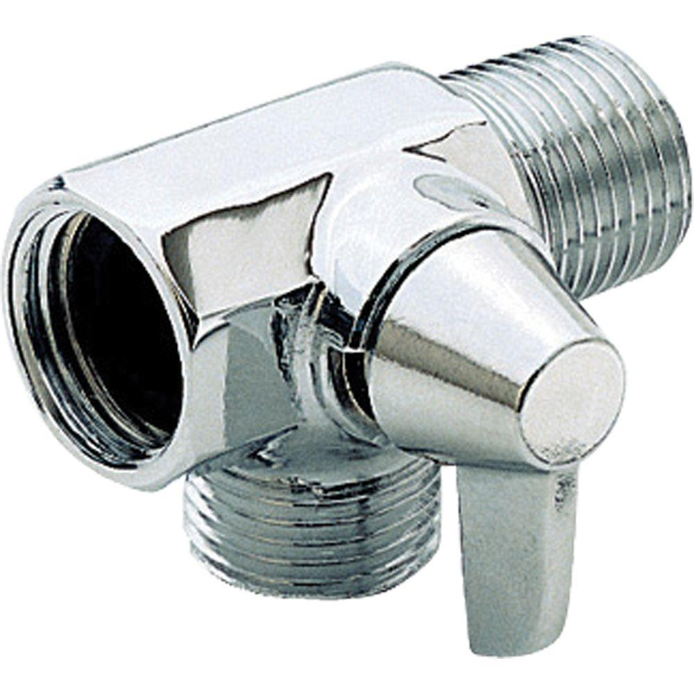 Delta Shower Diverter Delta Shower Arm Diverter For Handshower In Chrome