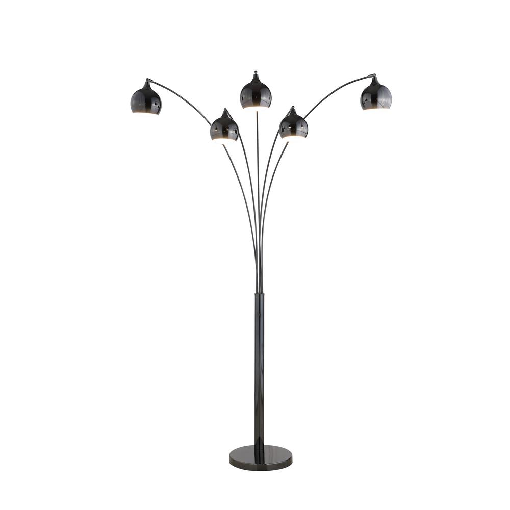 Small Arc Floor Lamp Floor Lamps Lamps The Home Depot