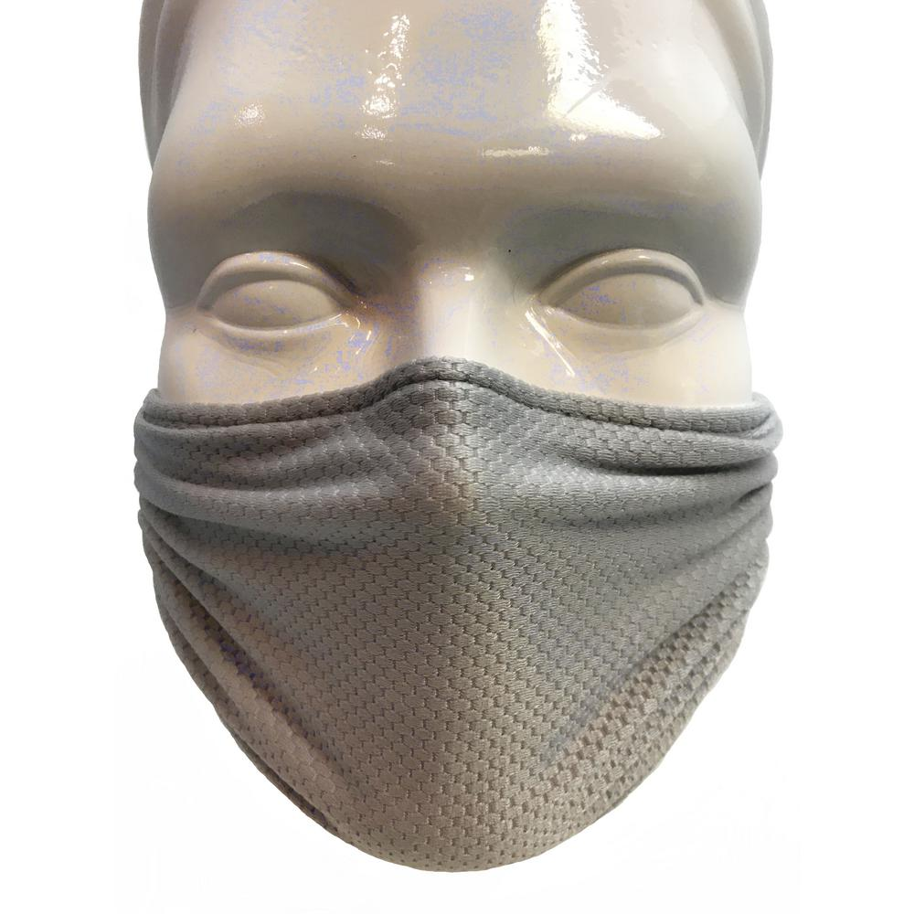 Respiratory Mask Multipurpose Washable Reusable Dust Pollen And Germ Mask In Sliver