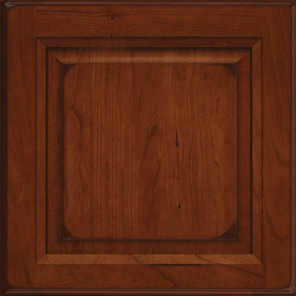 Kitchen Cabinets Victoria 15x15 In Cabinet Door Sample In Victoria Cherry Square In Burnished Autumn Blush