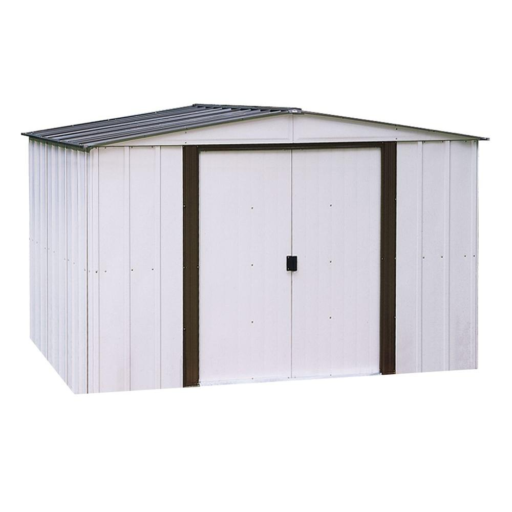 Home Depot Sheds For Sale Newport 10 Ft X 12 Ft Metal Shed