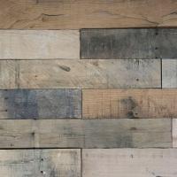 3D Whitewash Oak 1/4 in. x 4 in. x 24 in. Reclaimed Wood ...