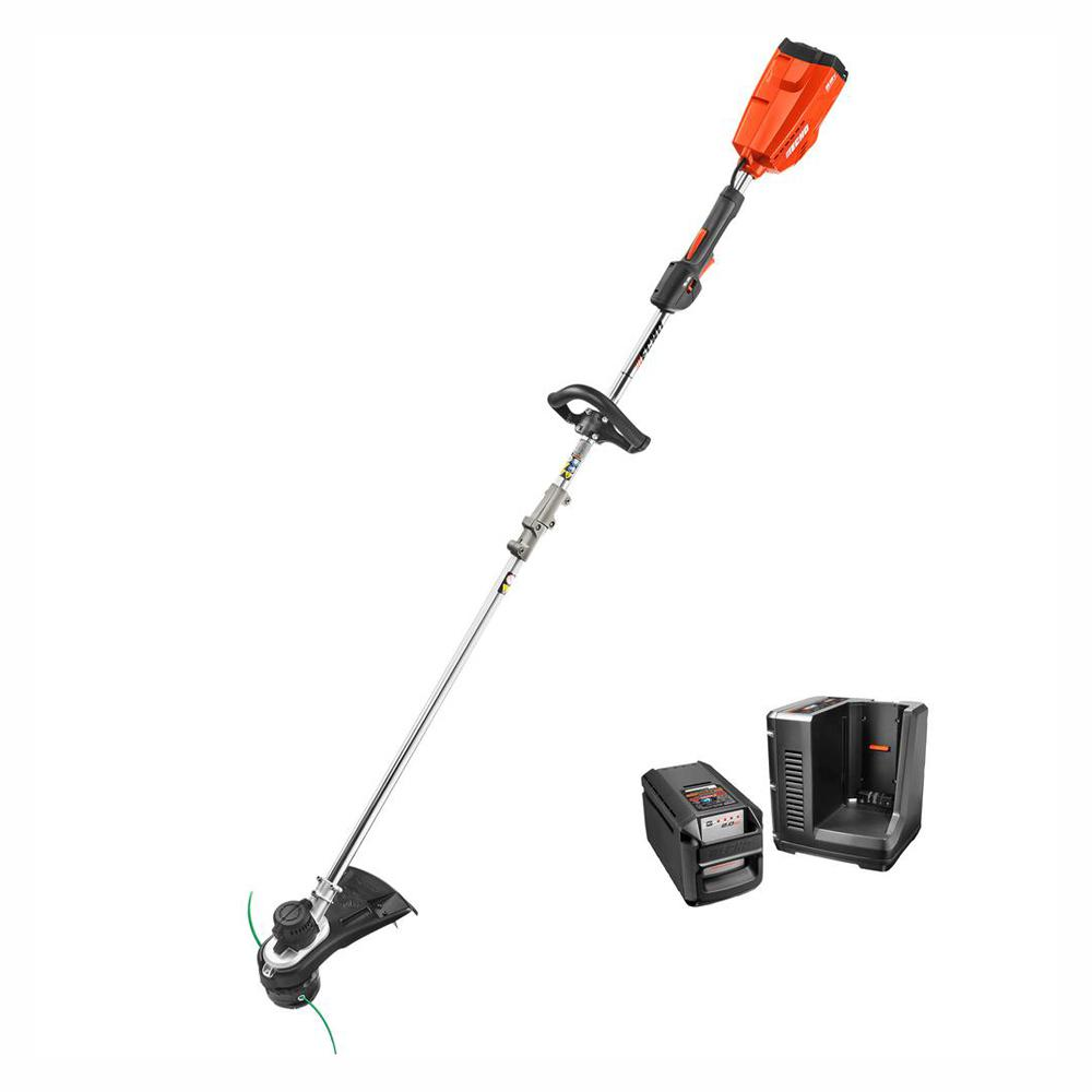 ???echo Echo 58 Volt Lithium Ion Brushless Cordless String Trimmer 2 Ah Battery And Charger Included