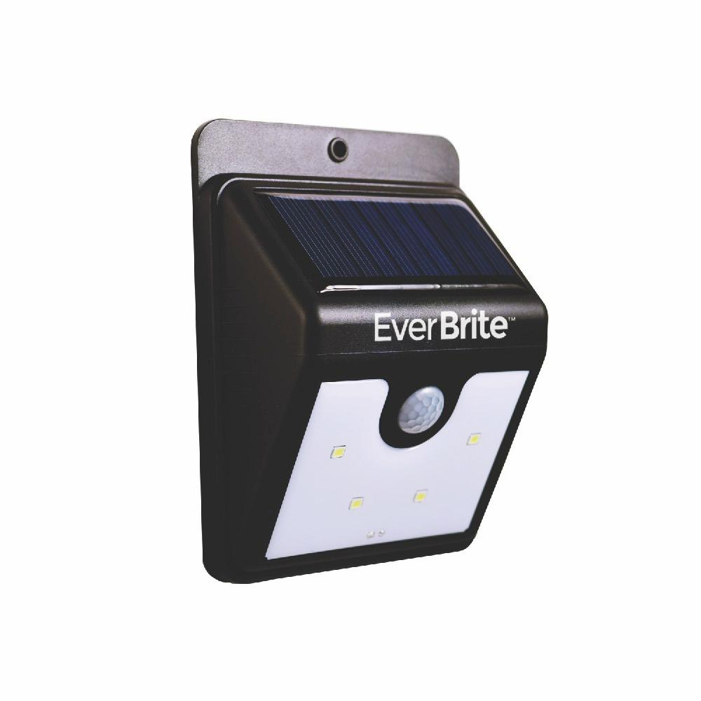 Led Lights At Walmart Ever Brite Solar Led White Light Single Pack