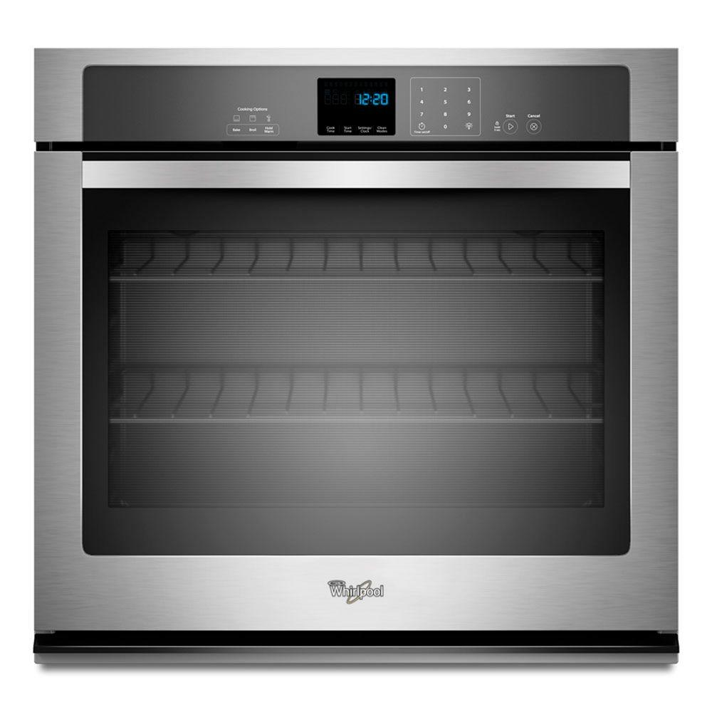 Whirlpool Oven Symbolen Whirlpool 27 In. Single Electric Wall Oven Self-cleaning