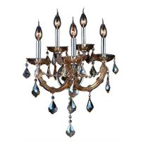 Worldwide Lighting Lyre Collection 5-Light Chrome with ...