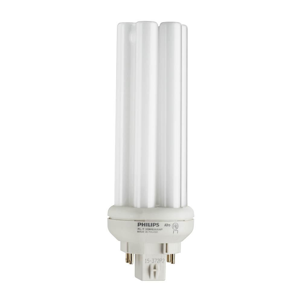 Bright Light Philips Philips 32 Watt Equivalent Cflni Pl T Alto 4 Pin Light Bulb Bright White 3500k