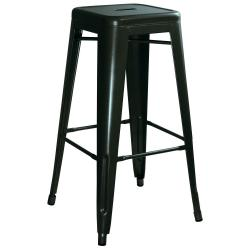 Small Crop Of Metal Bar Stools