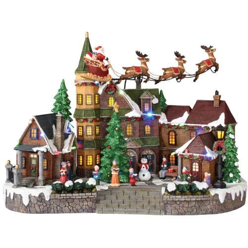 Medium Crop Of Christmas Village Sets