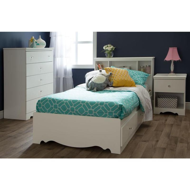 Large Of Twin Bed With Drawers