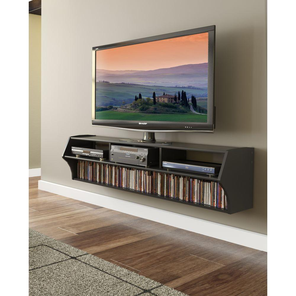 Diy Small Entertainment Center Prepac Altus Black Entertainment Center Bcaw 0208 1 The Home Depot