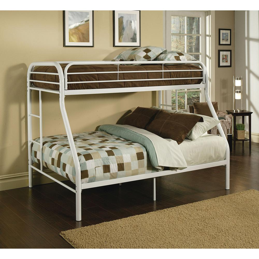 Double Bunks For Sale Acme Furniture Tritan Twin Over Full Metal Bunk Bed 02053bk The