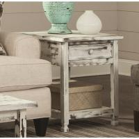 Alaterre Furniture Country Cottage Rustic White Antique ...