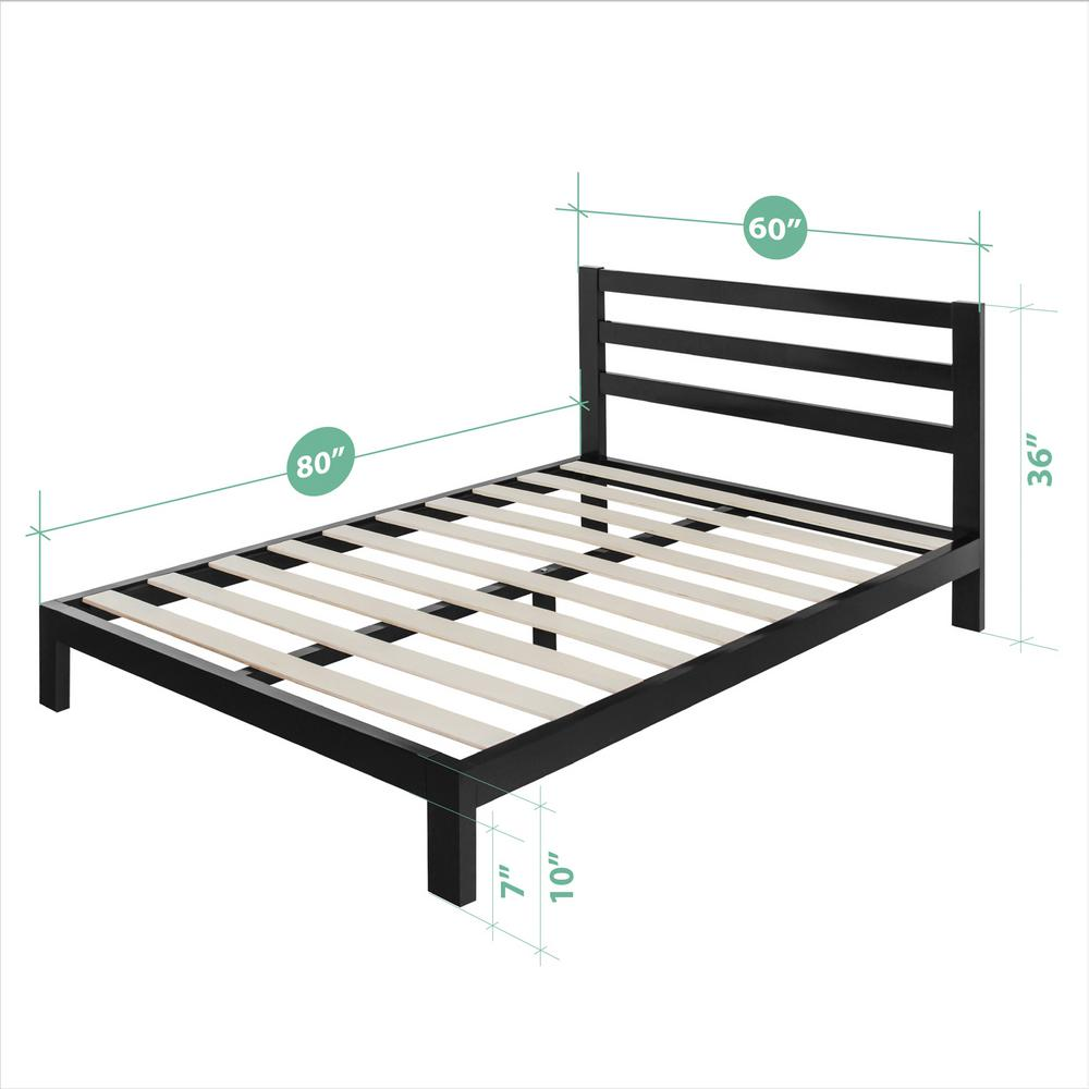 Double Bed With Mattress Deals Beds Headboards Bedroom Furniture The Home Depot