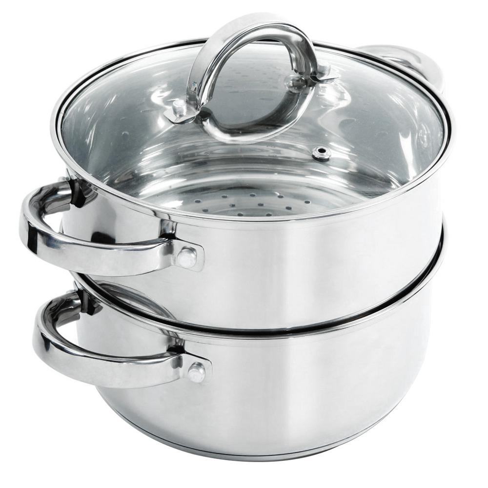 Steamer Saucepan Hali 3 Qt Stainless Steel Steamer Set With Lid