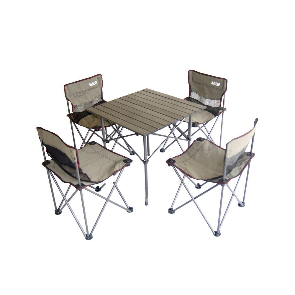 Children's Trestle Table Ore International Portable Children S Camping Table And Chair Set
