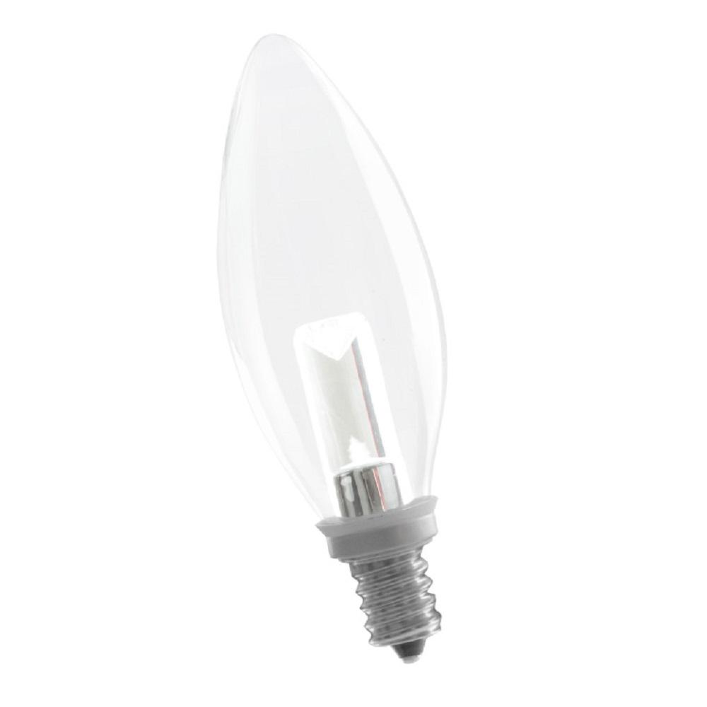5 Watt Led Halco Lighting Technologies 5 Watt Equivalent Soft White B10 Dimmable Led Light Bulb
