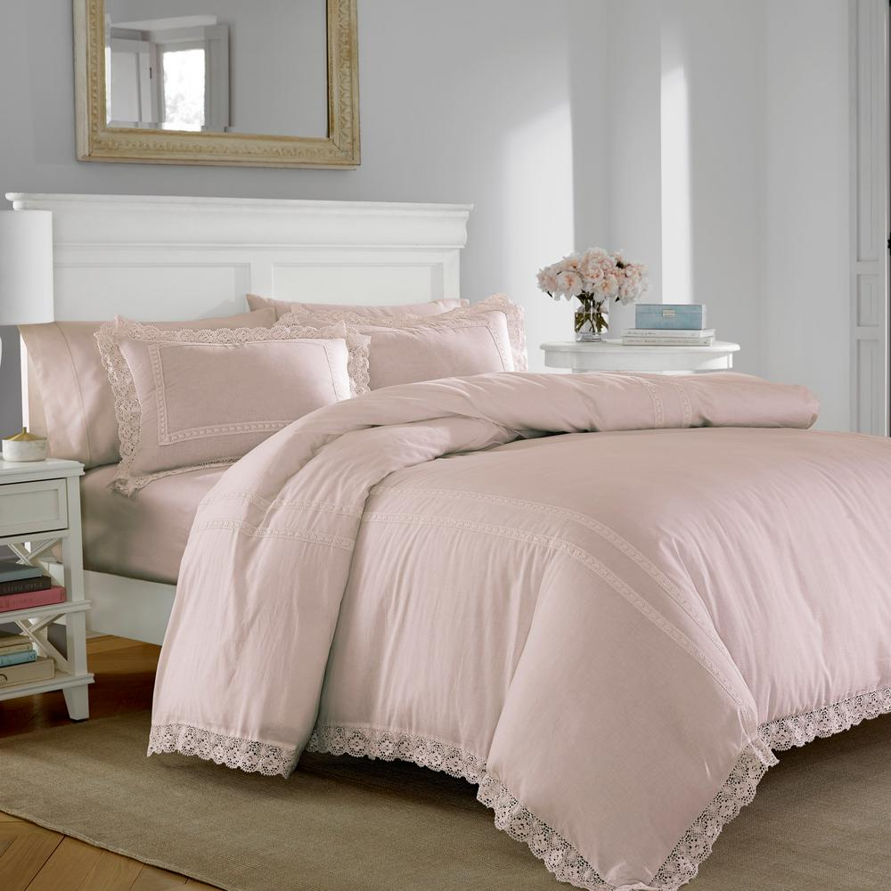 Quilt Cover King Annabella Pink 3 Piece King Duvet Cover Sets