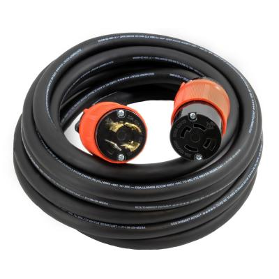 Generac 25 ft 50-Amp Male to Female Generator Cord-6389 - The Home
