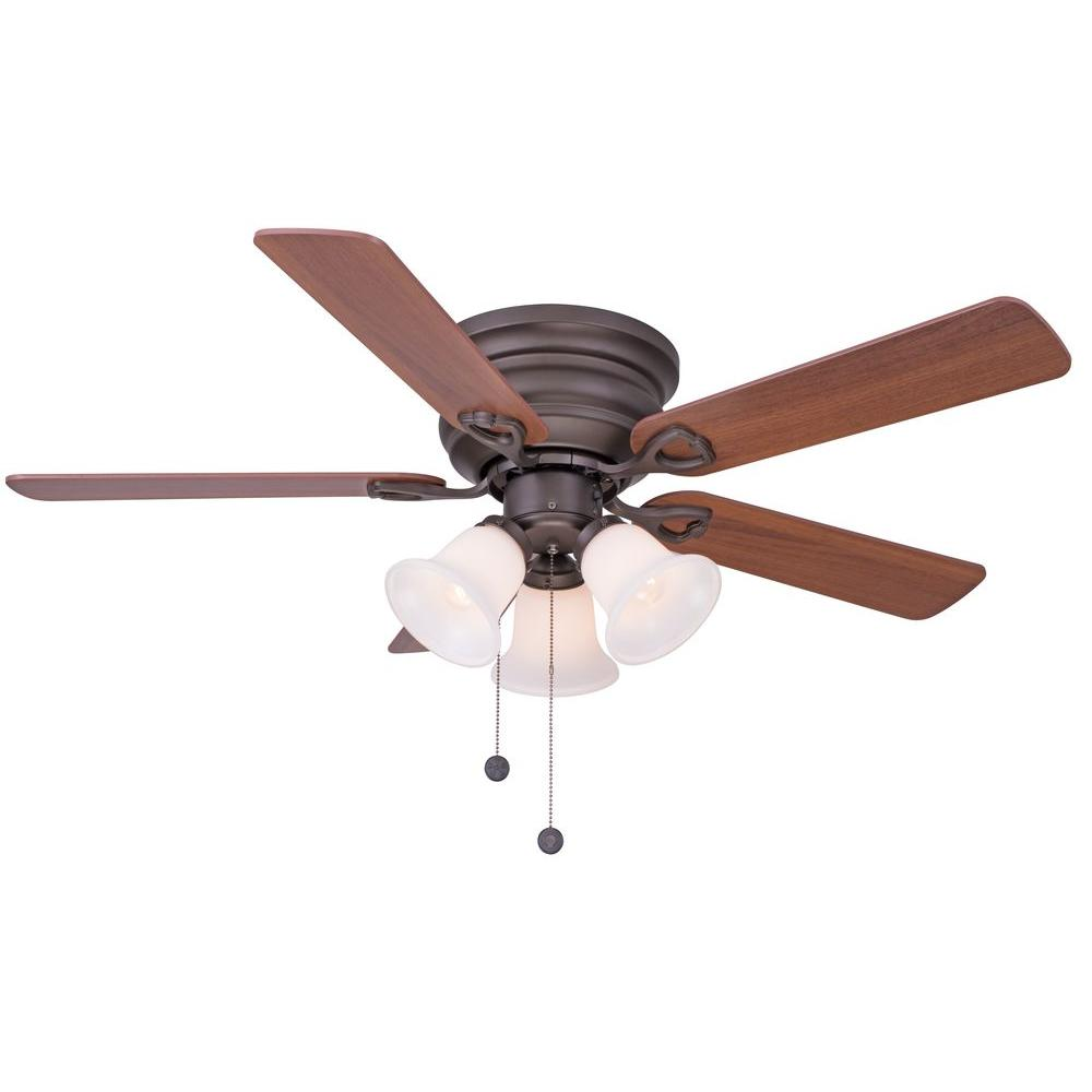 Ceiling Fans With Good Lighting Clarkston 44 In Indoor Oil Rubbed Bronze Ceiling Fan With Light Kit