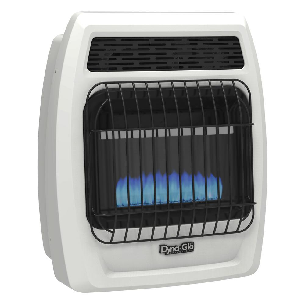 Home Depot Space Heater Dyna Glo 10 000 Btu Vent Free Blue Flame Liquid Propane Thermostatic Wall Heater