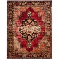 Safavieh Vintage Hamadan Red/Multi 8 ft. x 10 ft. Area Rug ...