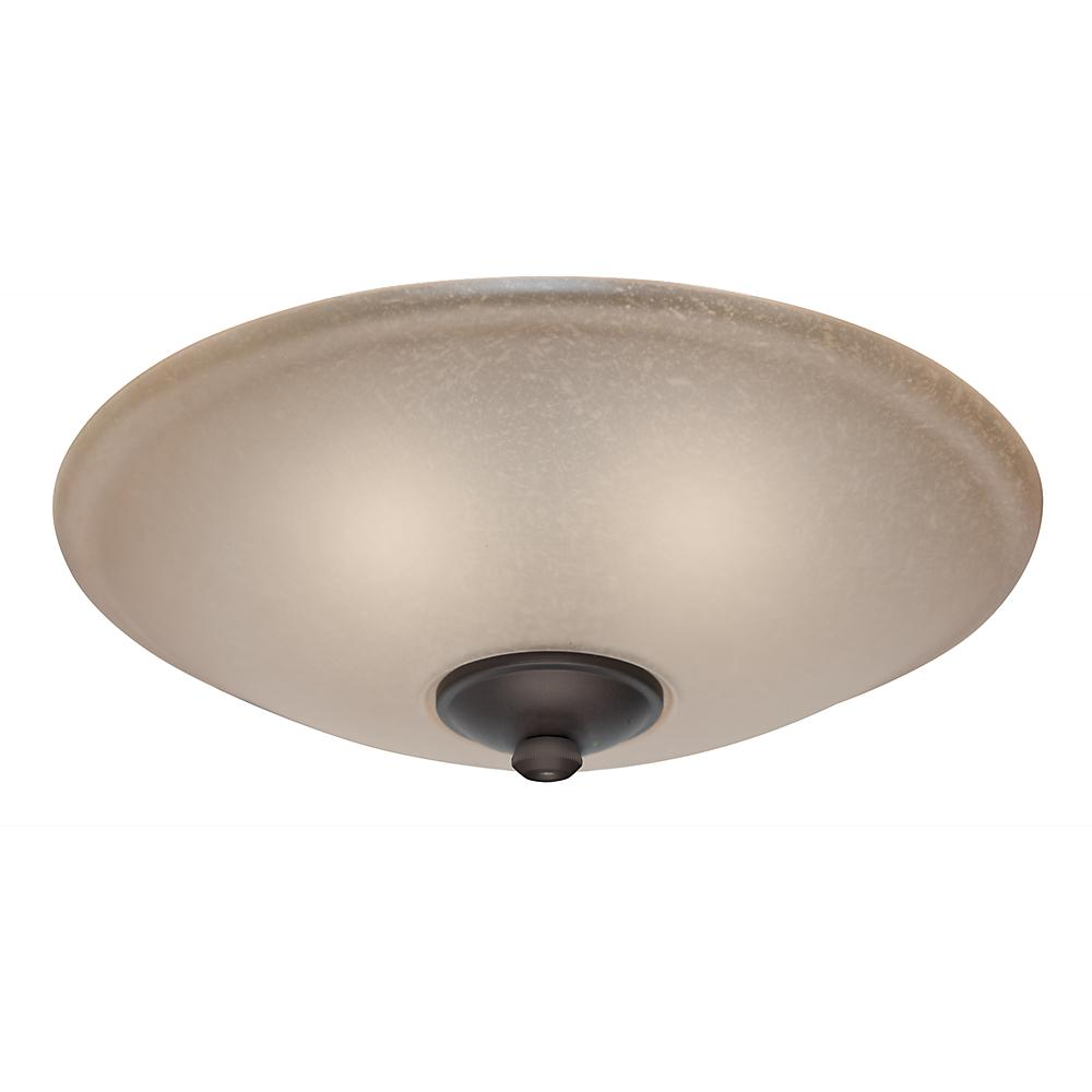 Casablanca Low Profile Ceiling Fan Light Kit with Toffee