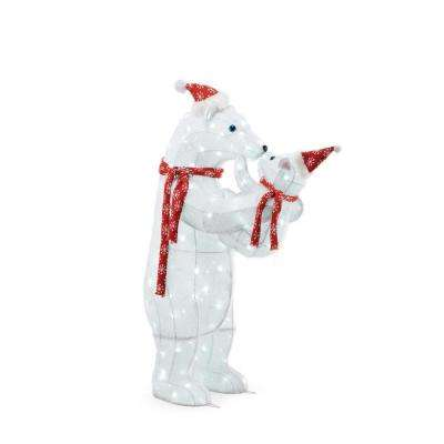 Bear - Christmas Yard Decorations - Outdoor Christmas Decorations - home depot outdoor christmas decorations