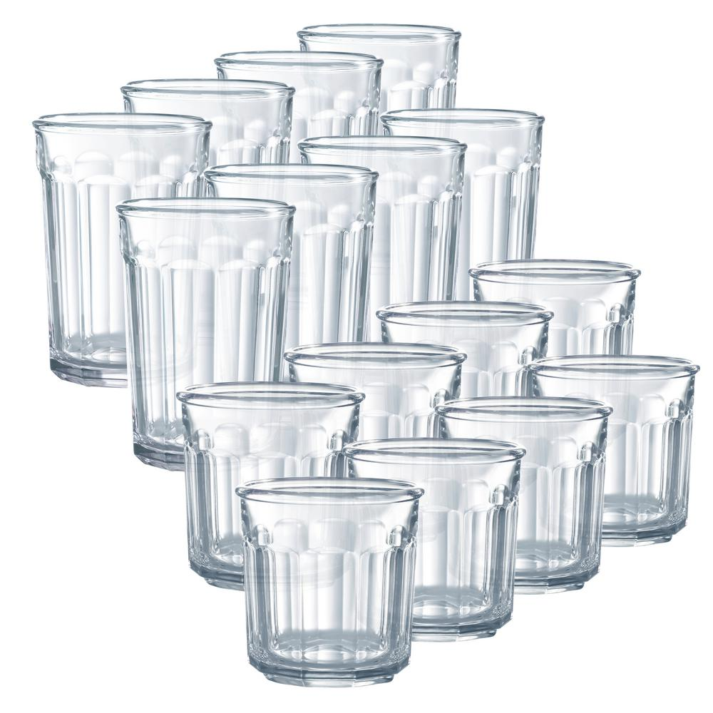 Luminarc Glass Luminarc Working Glass 16 Piece Clear Glass Set