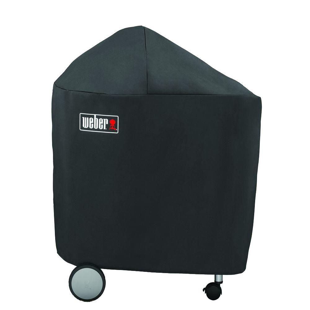 Weber Kettle Premium 57 Weber 22 In Performer Charcoal Grill Cover