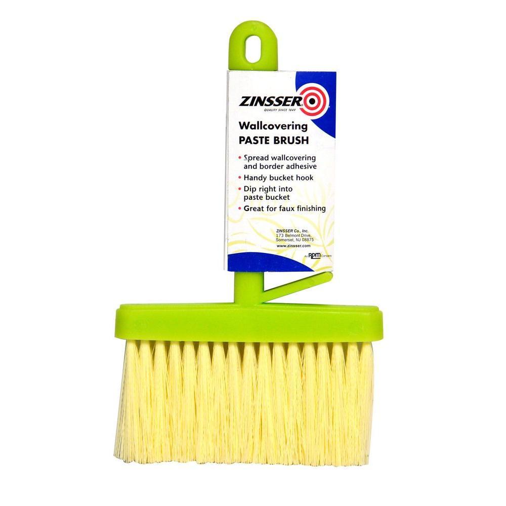Zinsser 6 In Flat Paste Brush Case Of 6 97501 The Home Depot - Paint Brush Home Depot