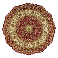 Home Decorators Collection Masterpiece Red 8 ft. Round ...