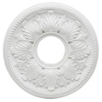 Westinghouse Bellezza 14 in. White Ceiling Medallion ...