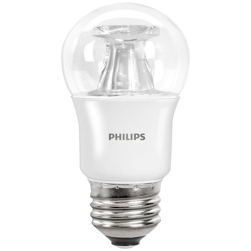Phillips Light Bulbs Philips 40 Watt Equivalent A15 Dimmable Led Light Bulb Soft White Fan With Warm Glow Light Effect E