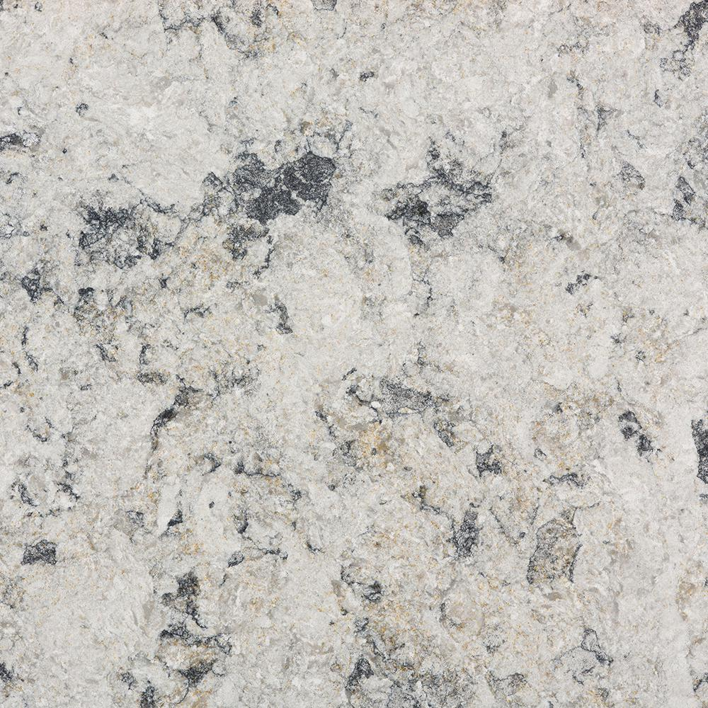 Taupe Quartz Countertop Silestone 2 In X 4 In Quartz Countertop Sample In Urban Frost