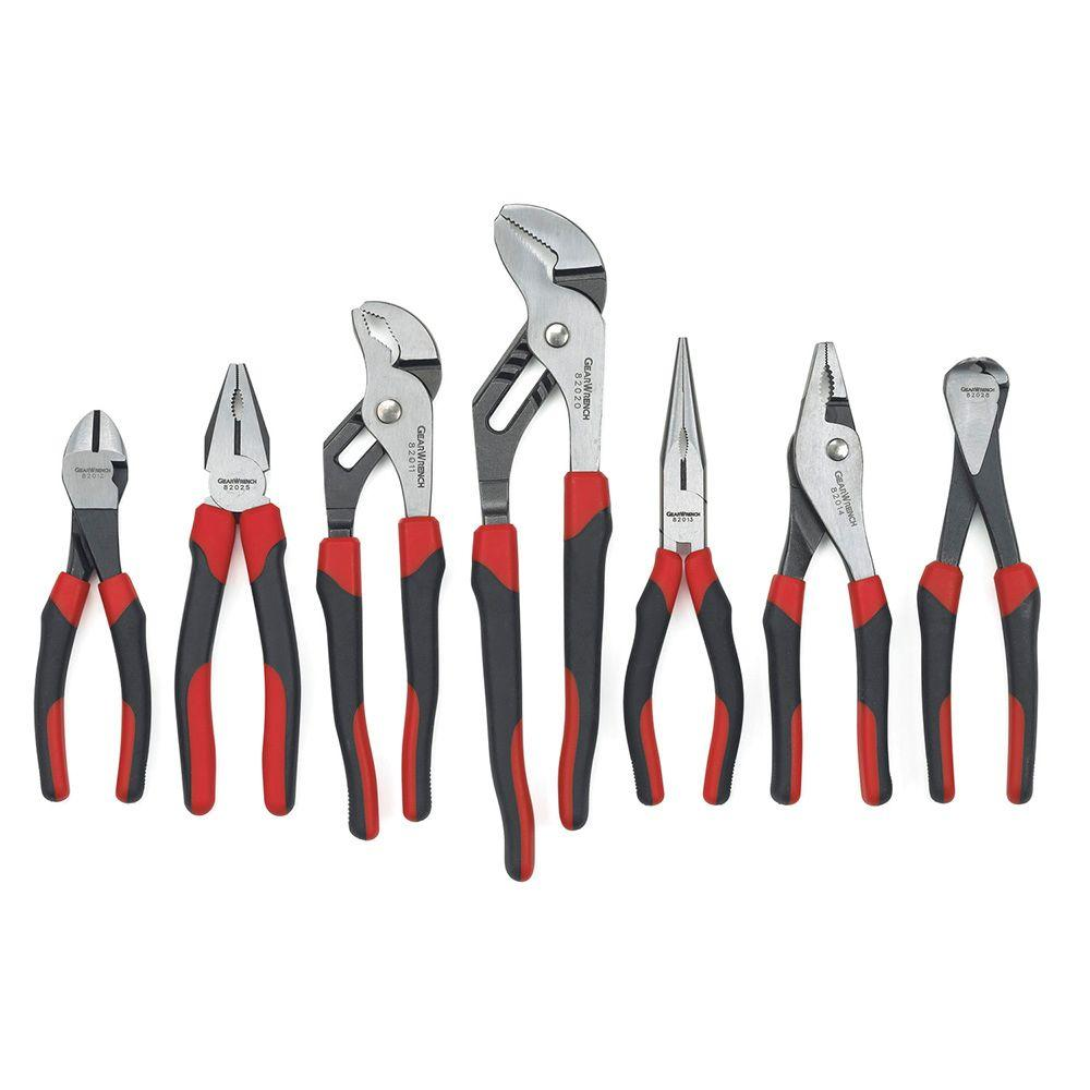 Pliers Set Gearwrench Mixed Pliers Set 7 Piece