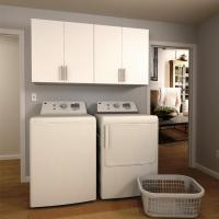 White Cabinets For Laundry Room - Home Design