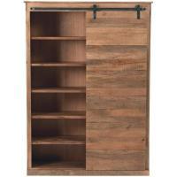 Bookshelves With Sliding Doors - Home Design